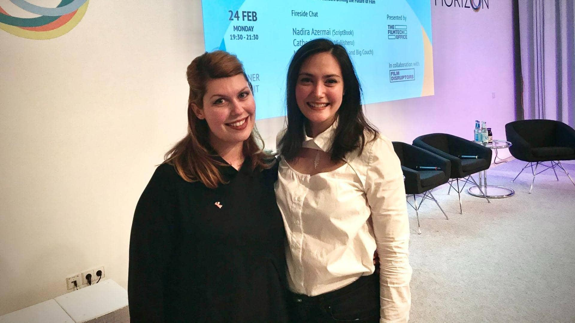 Maria Tanjala and Irina Albita are the co-founders of FilmChain, the fintech platform that pays professionals in the film and TV industries.