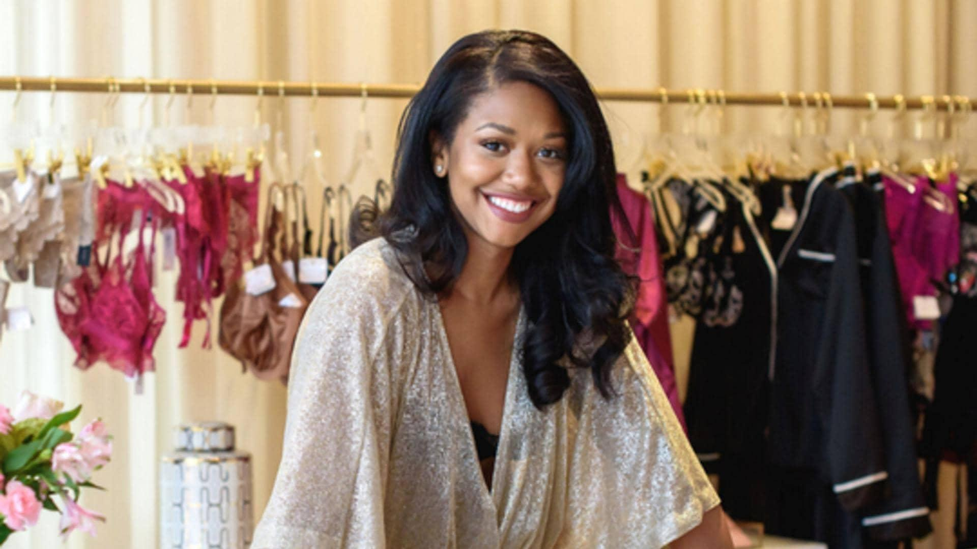 Jasmine Jones is the founder and CEO of Cherry Blossom Intimates.