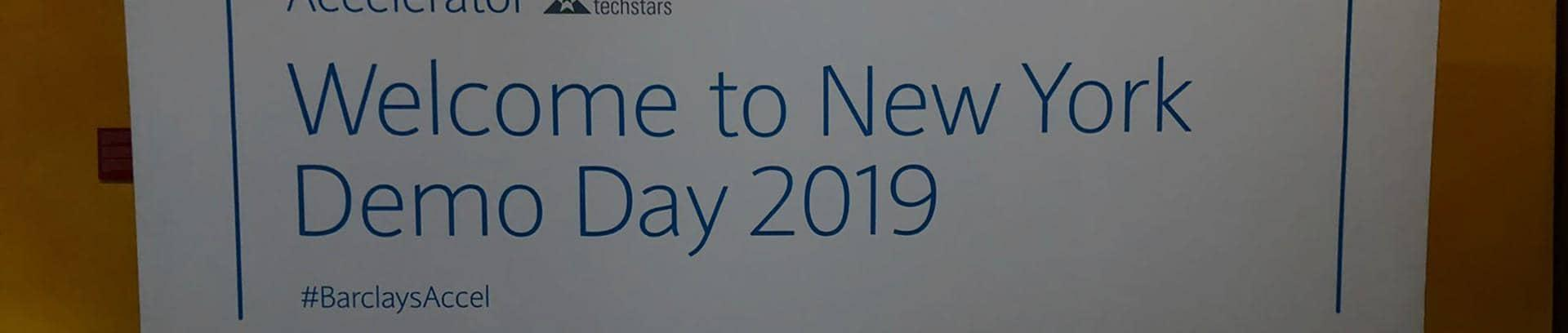 2019 New York Barclays Accelerator, powered by Techstars Demo Day
